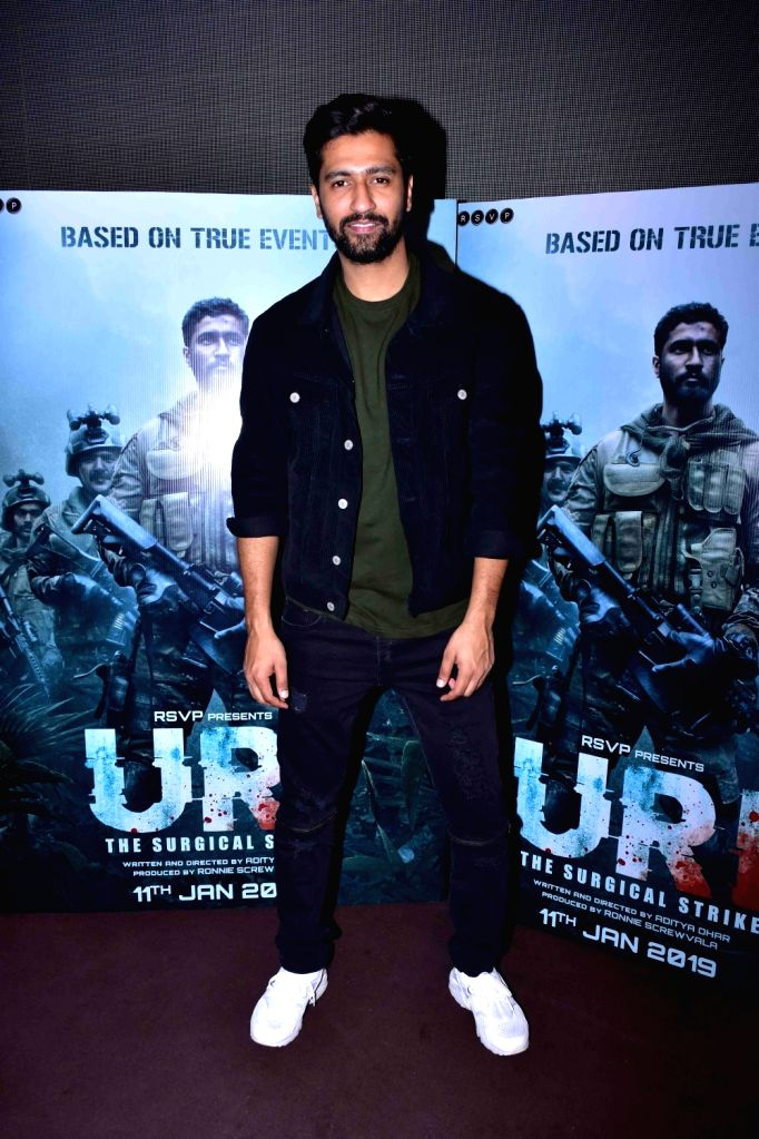 "Actor Vicky Kaushal during the trailer launch of film ""URI"" in Mumbai on Dec 4, 2018. - Vicky Kaushal"