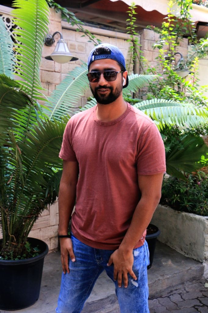 Actor Vicky Kaushal seen in Mumbai on June 8, 2019. - Vicky Kaushal