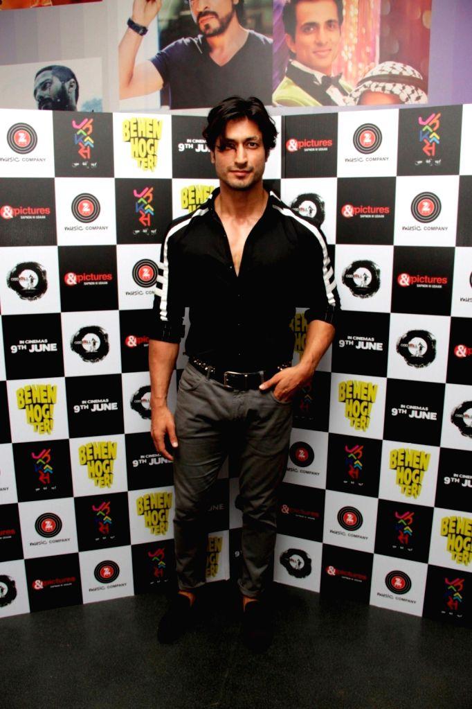 Actor Vidyut Jammwal during the screening of film Behen Hogi Teri in Mumbai, in Mumbai, on June 8, 2017. - Vidyut Jammwal