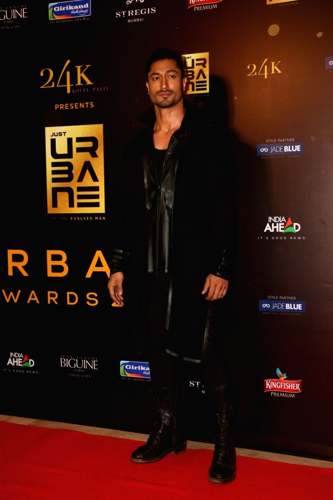 "Actor Vidyut Jammwal on the red carpet of ""Urbane Awards 2019"", in Mumbai, on June 1, 2019. - Vidyut Jammwal"