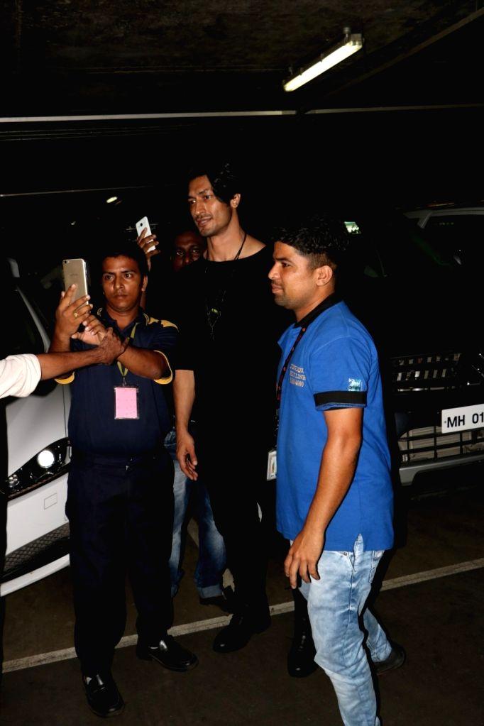 Actor Vidyut Jammwal spotted at Chhatrapati Shivaji Maharaj International airport in Mumbai on Aug 4, 2017. - Vidyut Jammwal