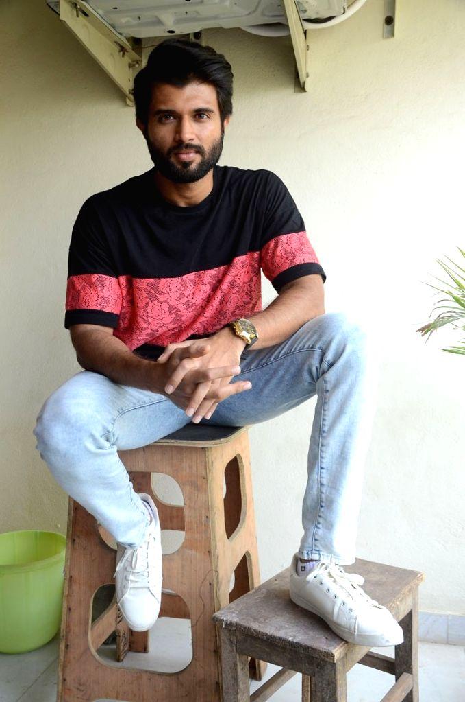Vijay Deverakonda during a interview