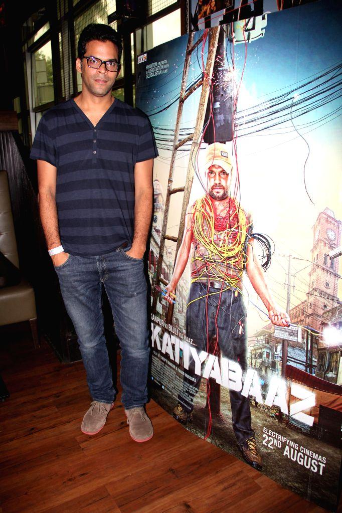 Actor Vikramaditya Motwane during the music launch of film Katiyabaaz in Mumbai on Aug 11, 2014. - Vikramaditya Motwane
