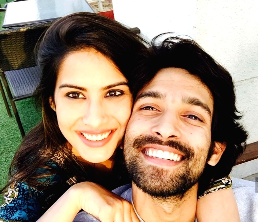 """Actor Vikrant Massey got engaged to his long time girlfriend Sheetal Thakur in a private roka ceremony. """"I think I would like to speak about this at the right time, but yes we had a very small ... - Vikrant Massey"""
