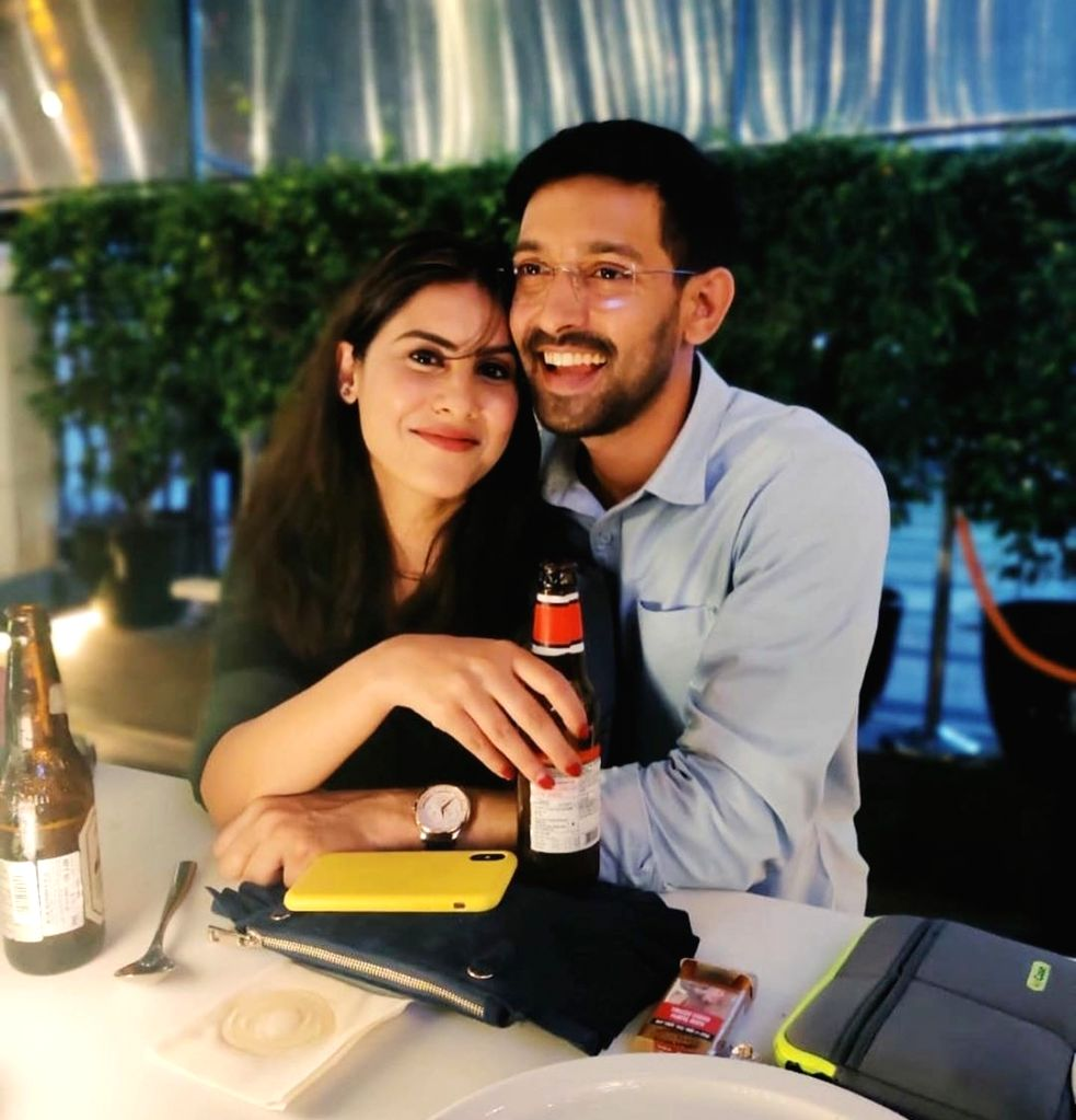 "Actor Vikrant Massey got engaged to his long time girlfriend Sheetal Thakur in a private roka ceremony. ""I think I would like to speak about this at the right time, but yes we had a very small private function. I would talk about marriage and everyth - Vikrant Massey"