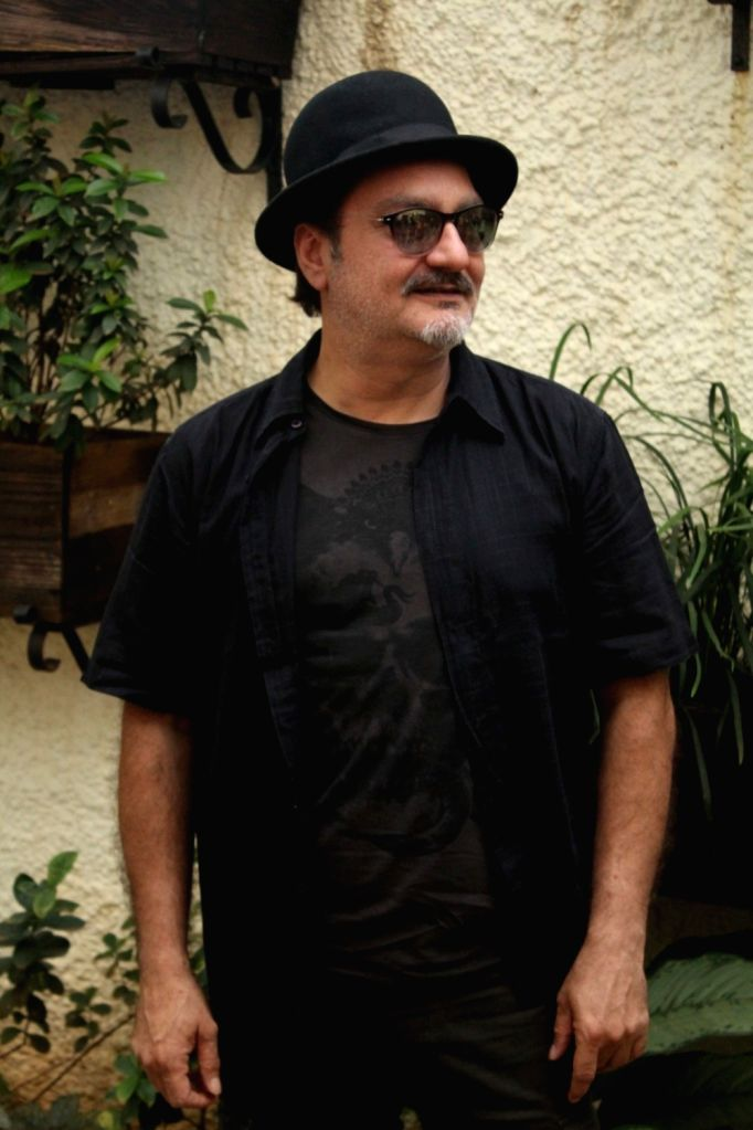 "Actor Vinay Pathak during the special screening of short film ""The Dark Brew"" in Mumbai on Aug 16, 2017. - Vinay Pathak"
