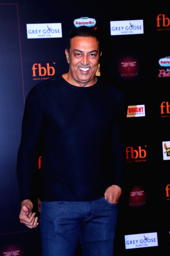 Actor Vindu Dara Singh during a programme organised by fbb Colors Femina Miss India 2019, in Mumbai, on May 26, 2019. - Vindu Dara Singh