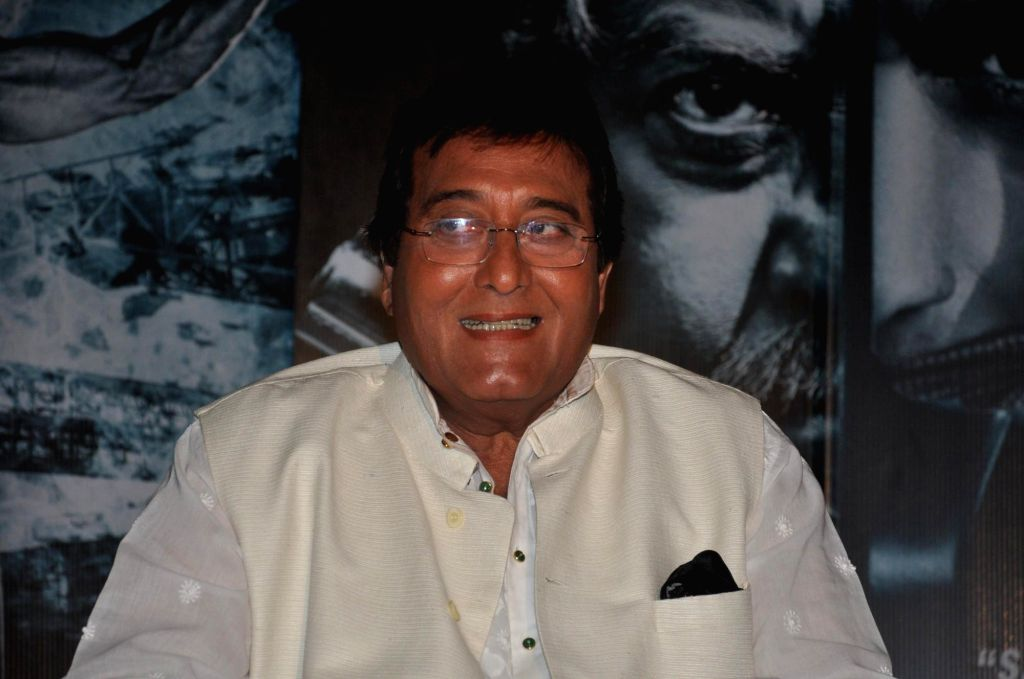 Actor Vinod Khanna during the press conference of the film Koyelaanchal in Mumbai on  May 06, 2014 - Vinod Khanna