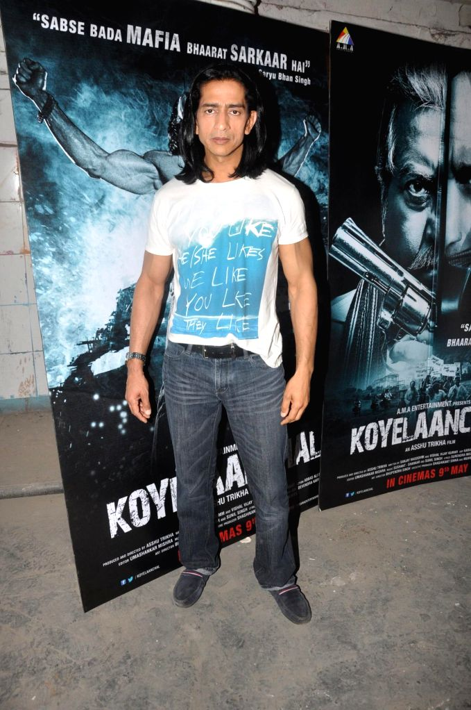 Actor Vipinno during the press conference of the film Koyelaanchal in Mumbai on  May 06, 2014 - Vipinno