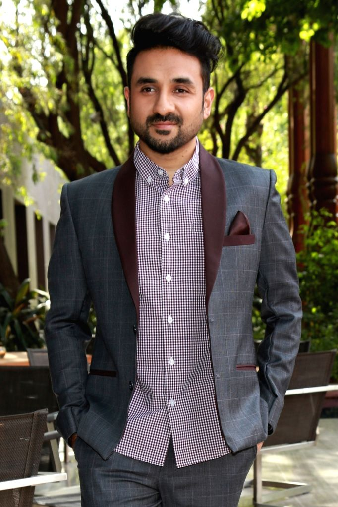"Actor Vir Das during a press conference to promote their upcoming film ""Santa Banta Pvt. Ltd"" in New Delhi on April 20, 2016. - Vir Das"