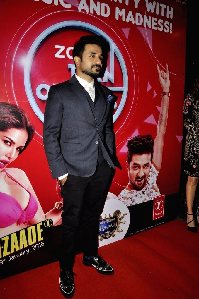 Actor Vir Das during the promotion of film Mastizaade in  Mumbai. - Vir Das