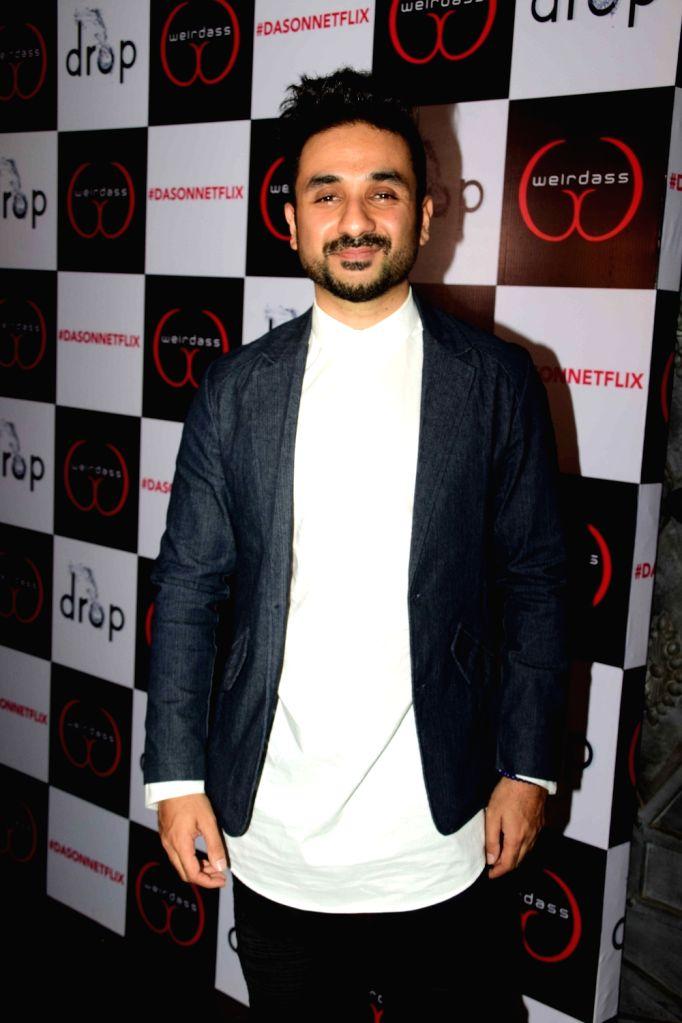 Actor Vir Das during the success of his show Netflix Abroad Understanding in Mumbai on May 2, 2017. - Vir Das