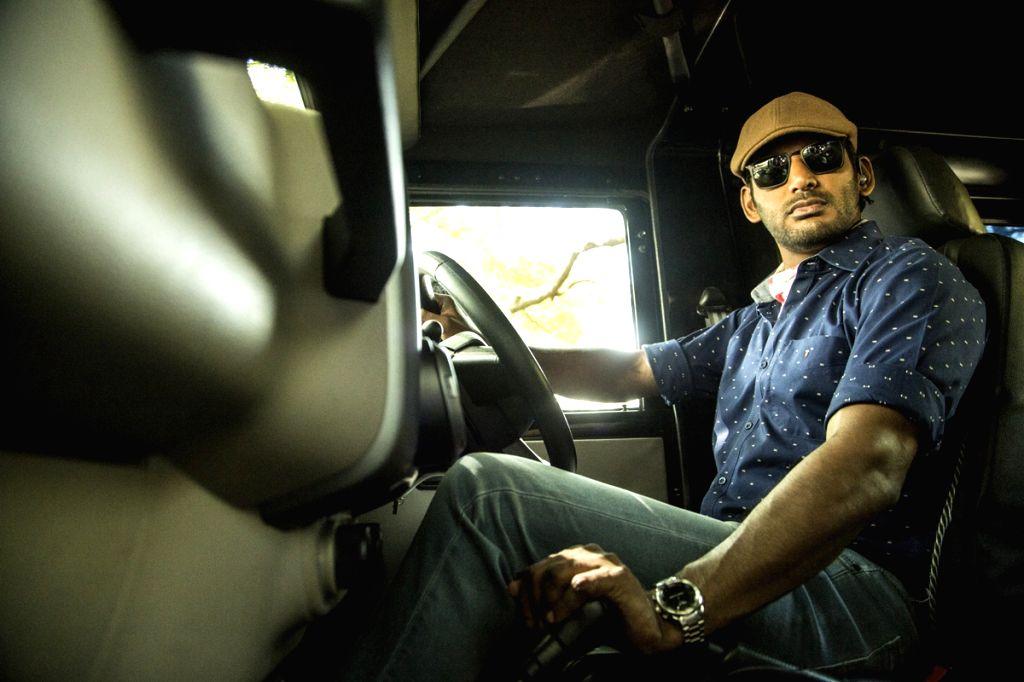 Actor Vishal Krishna stills in Hyderabad. - Vishal Krishna