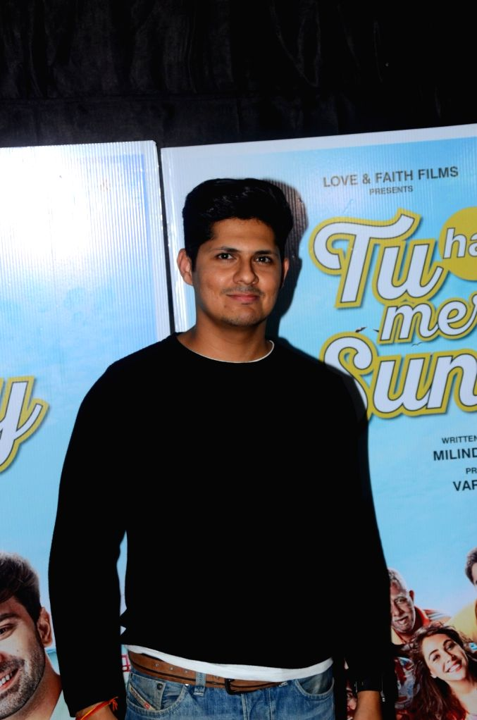 "Actor Vishal Malhotra during the promotions of his upcoming film ""Tu Hai Mera Sunday"" in Mumbai on Sept 17, 2017. - Vishal Malhotra"