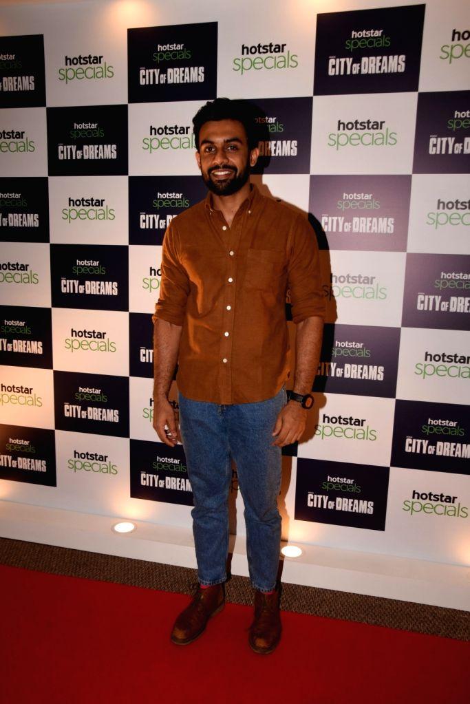 "Actor Vishwas Kini at the trailer launch of the upcoming web series ""City of Dreams"" in Mumbai, on April 25, 2019. - Vishwas Kini"