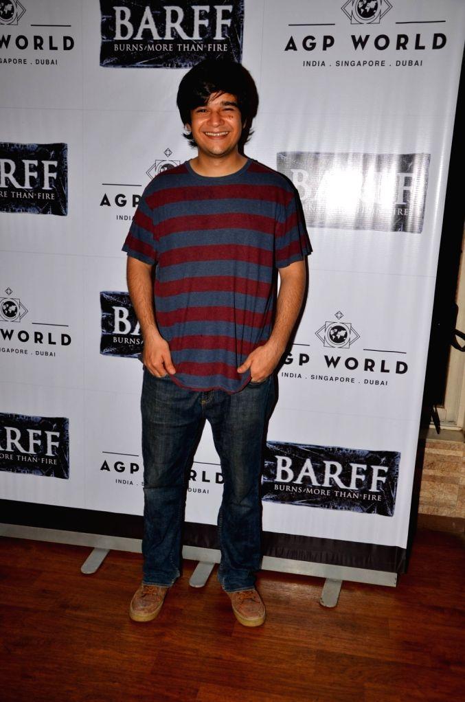 Actor Vivaan Shah at AGP play Barff by Saurabh Shukla in Mumbai on April 17, 2016. - Vivaan Shah