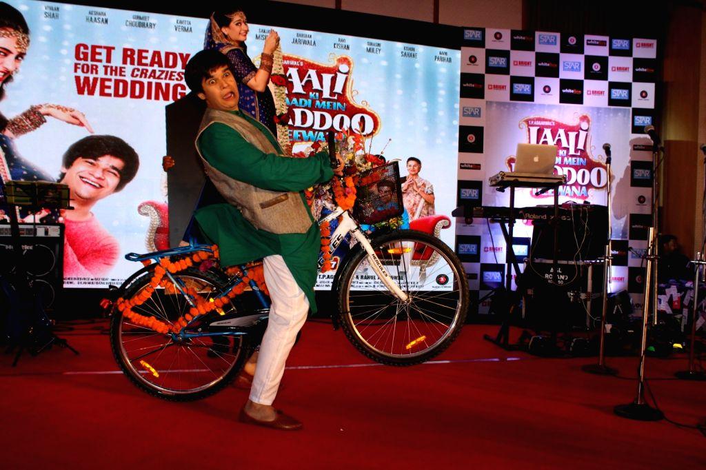 Actor Vivaan Shah during the Sangeet Ceremony for film Laali Ki Shaadi Mein Laaddoo Deewana in Mumbai on March 21, 2017. - Vivaan Shah