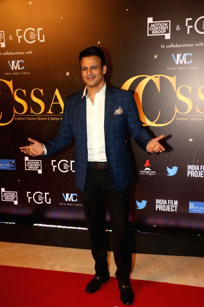 Actor Vivek Oberoi at the red carpet of Critics' Choice Awards in Mumbai on Dec 11, 2019. - Vivek Oberoi