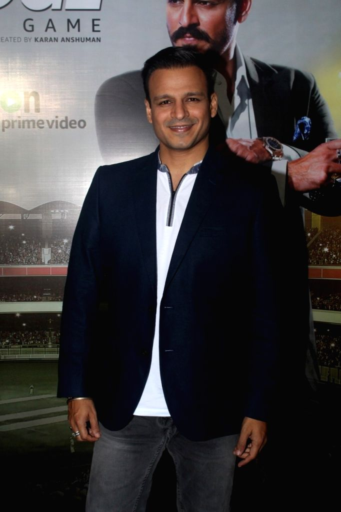 "Actor Vivek Oberoi during promotion of television series ""Inside Edge"" in Mumbai on July 4, 2017. - Vivek Oberoi"