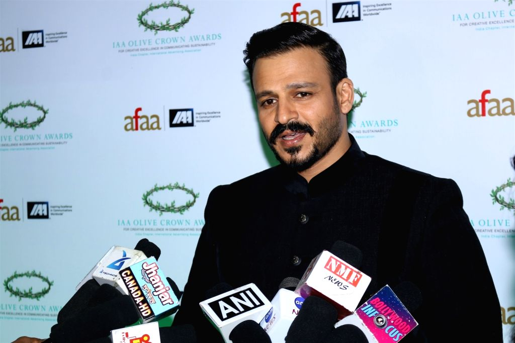 Actor Vivek Oberoi during the International Advertising Association (IAA) - India Chapter Olive Crown Awards 2017 in Mumbai on March 15, 2017. - Vivek Oberoi