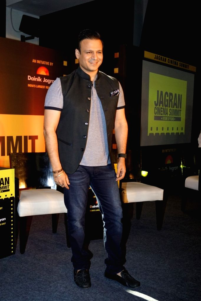 "Actor Vivek Oberoi during the ""Jagran Cinema Host Summit"" to Discuss Future of Film in Mumbai on Sept 15, 2017. - Vivek Oberoi"