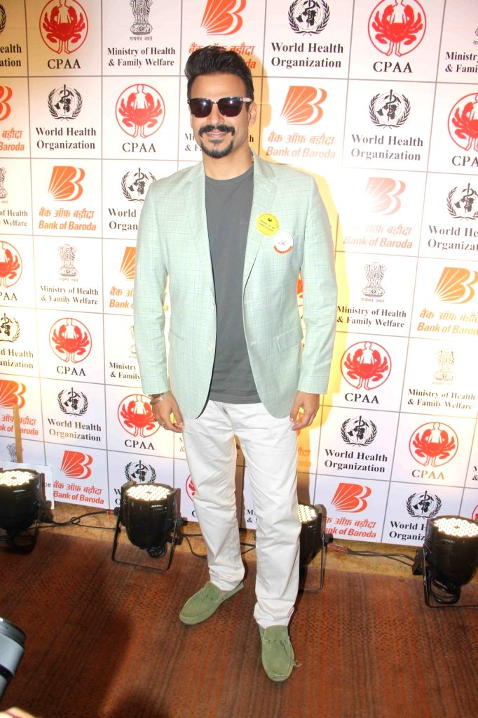 Actor Vivek Oberoi during the press conference organised on the eve of World Tobacco Day to support the No To Tobacco and Yes To Life campaign in Mumbai, on May 30, 2017. - Vivek Oberoi