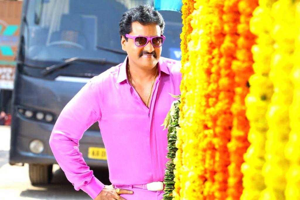 Actor Vungarala Rambabu during the Telugu film Vungarala Rambabu. - Vungarala Rambabu