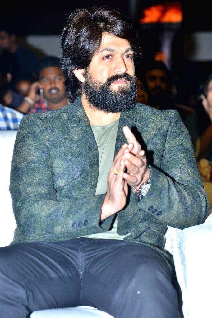 Actor Yash  pre release function stills - Film KGF . - Yash