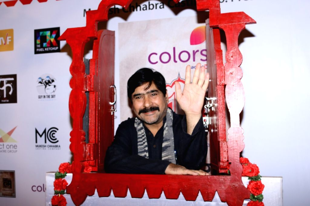 Actor Yashpal Sharma during the Colours Khidkiyaan Theater Festival-Day 5 in Mumbai on March 5, 2017. - Yashpal Sharma