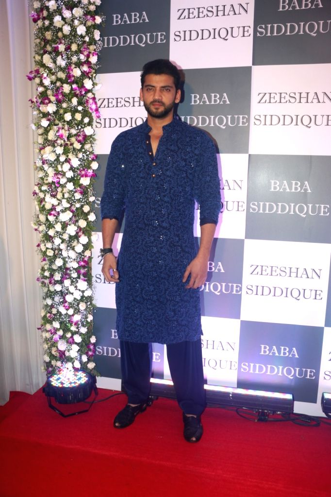 Actor Zaheer Iqbal at Congress leader Baba Siddique's Iftar party in Mumbai, on June 2, 2019. - Zaheer Iqbal
