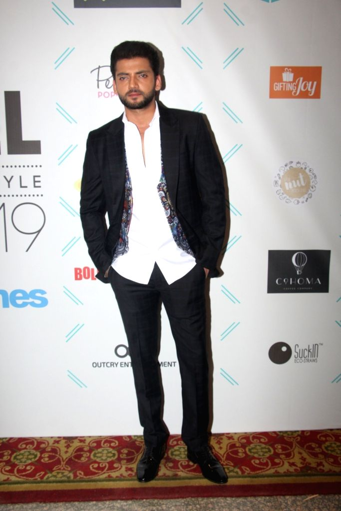 "Actor Zaheer Iqbal at ""Tassel Awards 2019"", in Mumbai, on June 1, 2019. - Zaheer Iqbal"