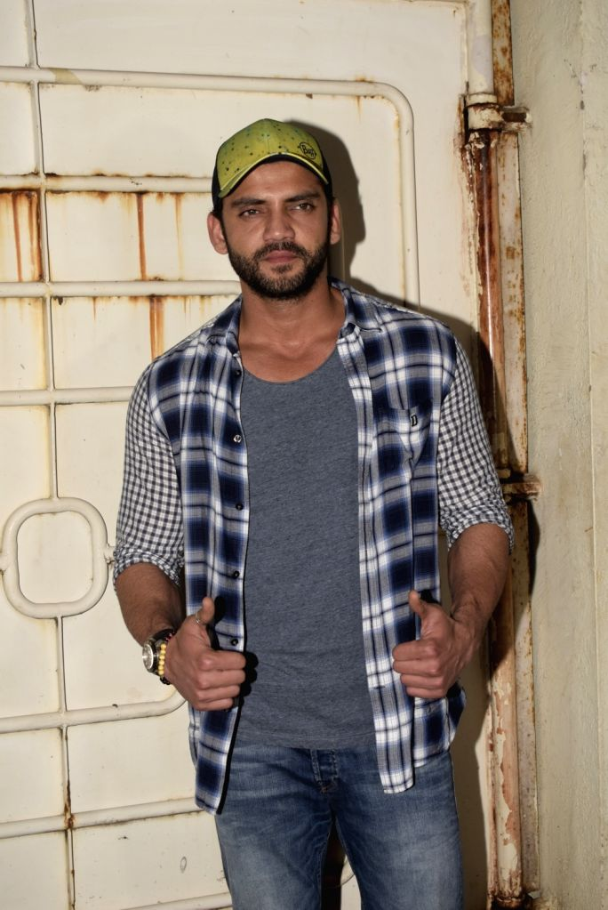 "Actor Zaheer Iqbal at the screening of his upcoming film ""Notebook"" in Mumbai, on March 4, 2019. - Zaheer Iqbal"