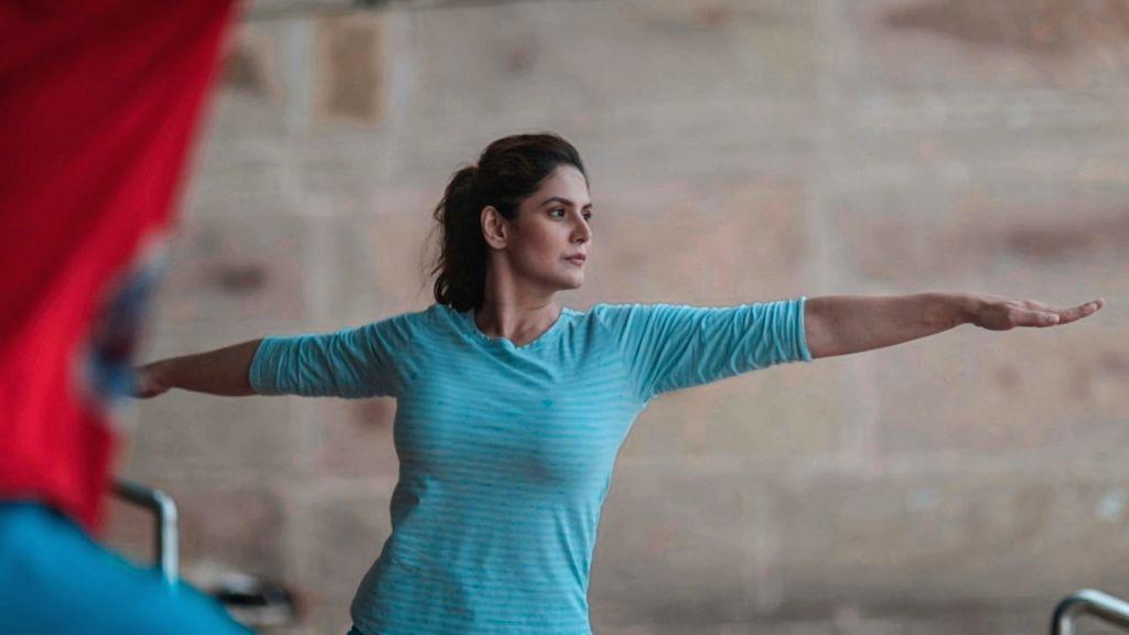 Actor Zareen Khan. - Zareen Khan