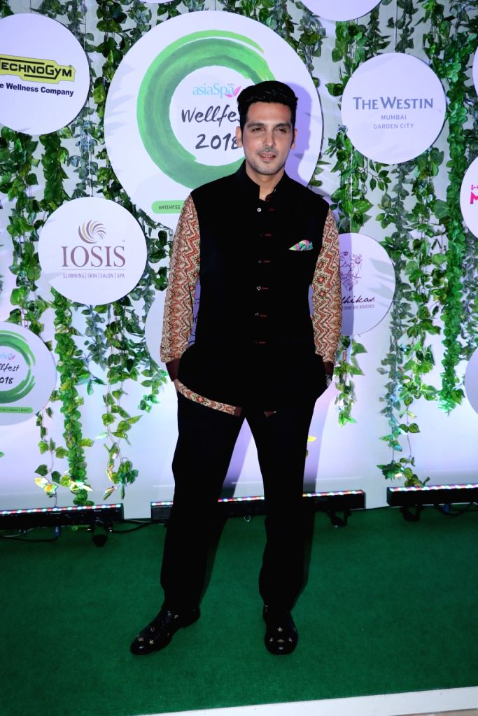Actor Zayed Khan at the red carpet of Asia Spa Fit & Fabulous Awards 2018 in Mumbai on Oct 30, 2018. - Zayed Khan