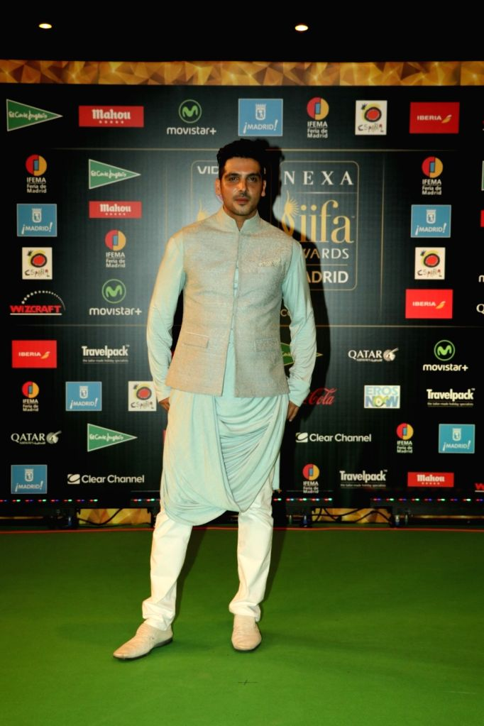 Actor Zayed Khan during IIFA Awards in Madrid on June 26, 2016. - Zayed Khan