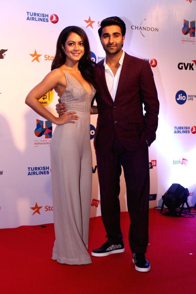 Actors Aadar Jain and Anya Singh at Mami Movie Mela 2017 in Mumbai on Oct 12, 2017. - Aadar Jain and Anya Singh