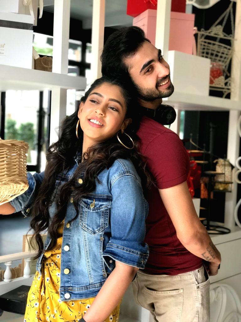 Actors Abhishek Verma and Niti Taylor. - Abhishek Verma and Niti Taylor