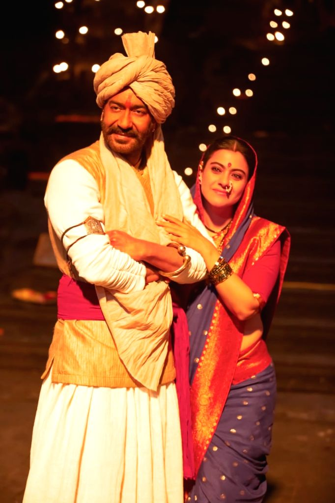 Actors Ajay Devgan and Kajol. - Ajay Devgan and Kajol