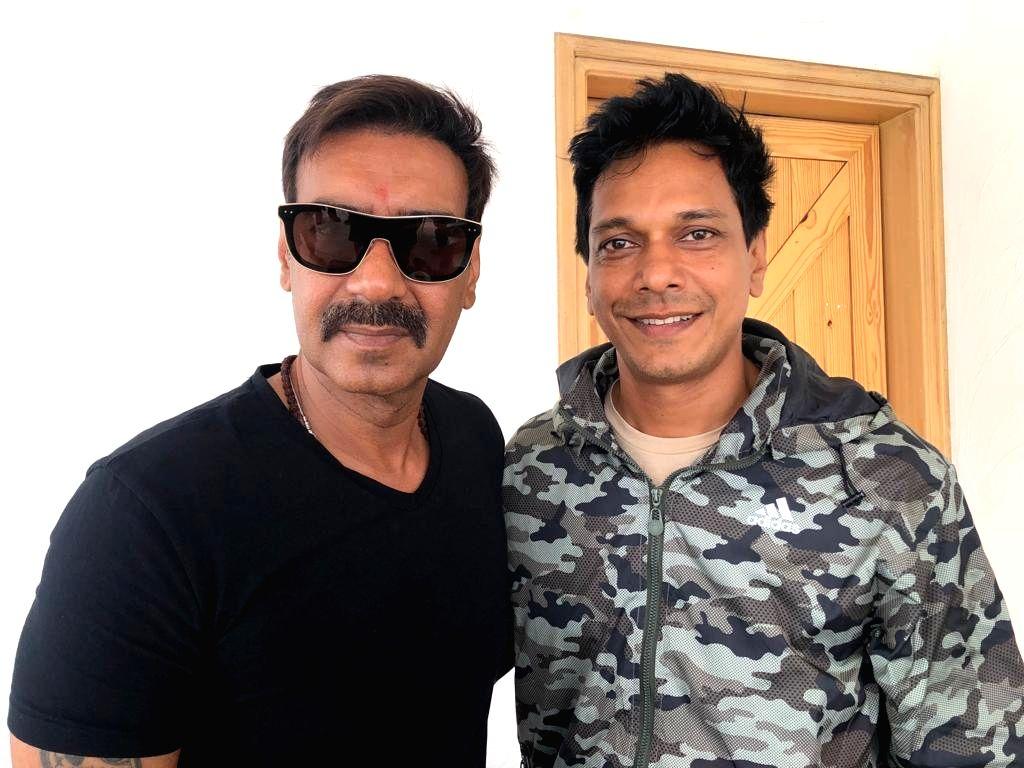 Actors Ajay Devgn and Mahesh Shetty. - Ajay Devgn and Mahesh Shetty