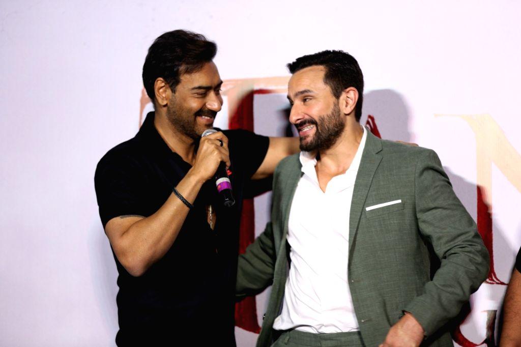 Actors Ajay Devgn and Saif Ali Khan. (Photo: IANS) - Ajay Devgn and Saif Ali Khan