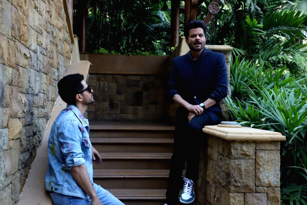 "Actors Anil Kapoor and Kunal Khemu during the promotions of their upcoming film ""Malang"" in Mumbai on Feb 5, 2020. - Anil Kapoor and Kunal Khemu"