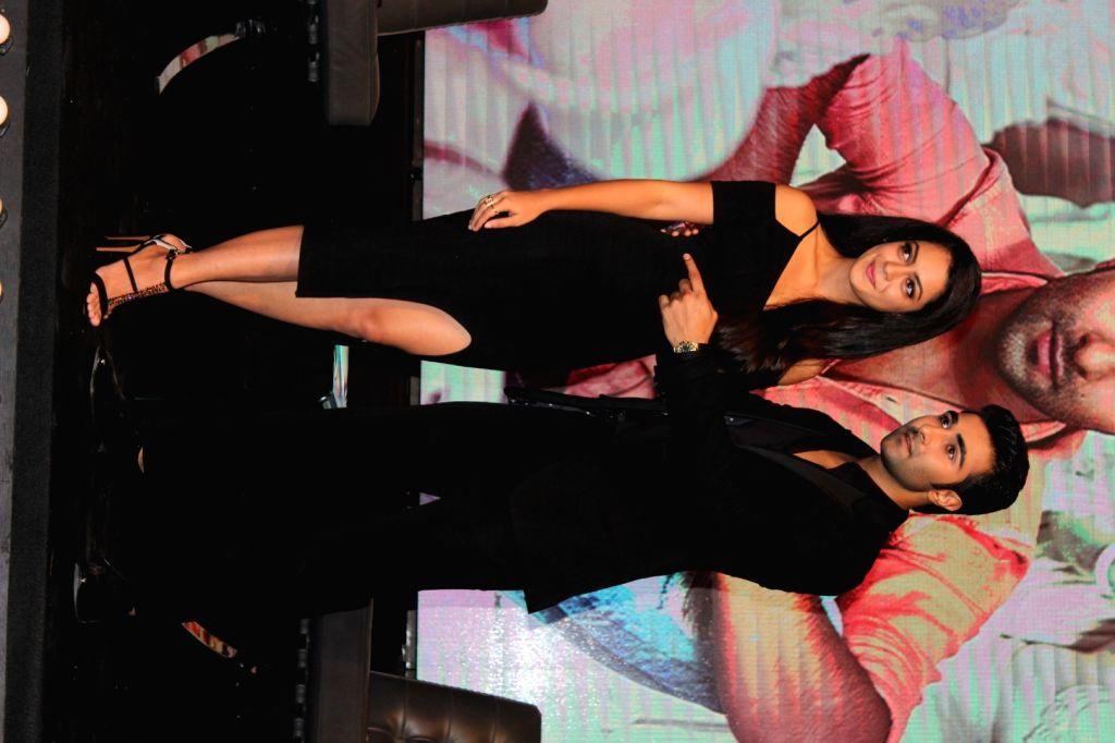 Actors Anya Singh and Aadar Jain during a YRF programme in Mumbai on July 5, 2017. - Anya Singh and Aadar Jain
