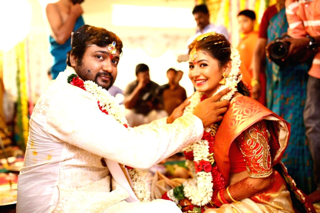 Actors Bobby Simhaa, Reshmi Menon - Bobby Simhaa and Reshmi Menon