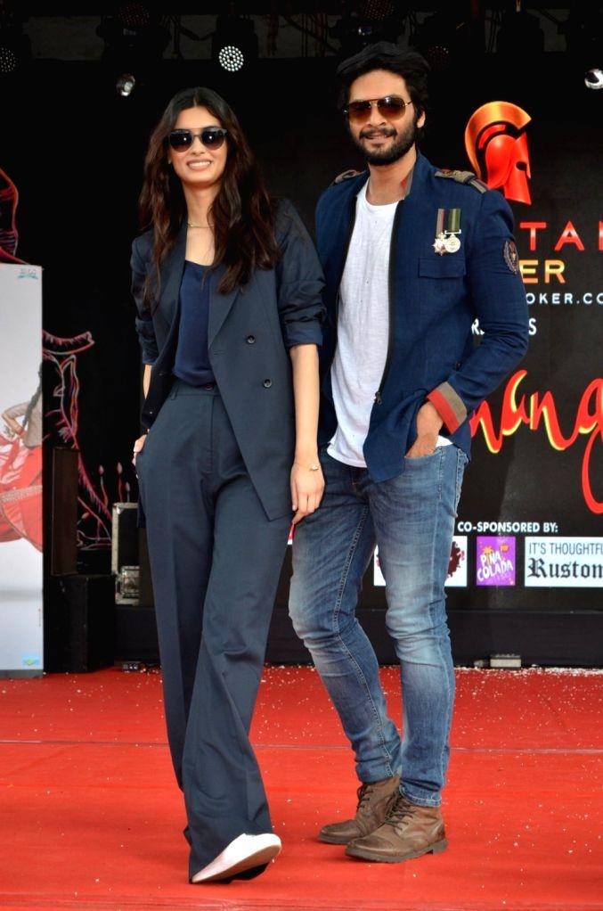 Actors Diana Penty and Ali Fazal during Mithibai College Umang Festival 2016 in Mumbai, on Aug 14, 2016. - Diana Penty and Ali Fazal