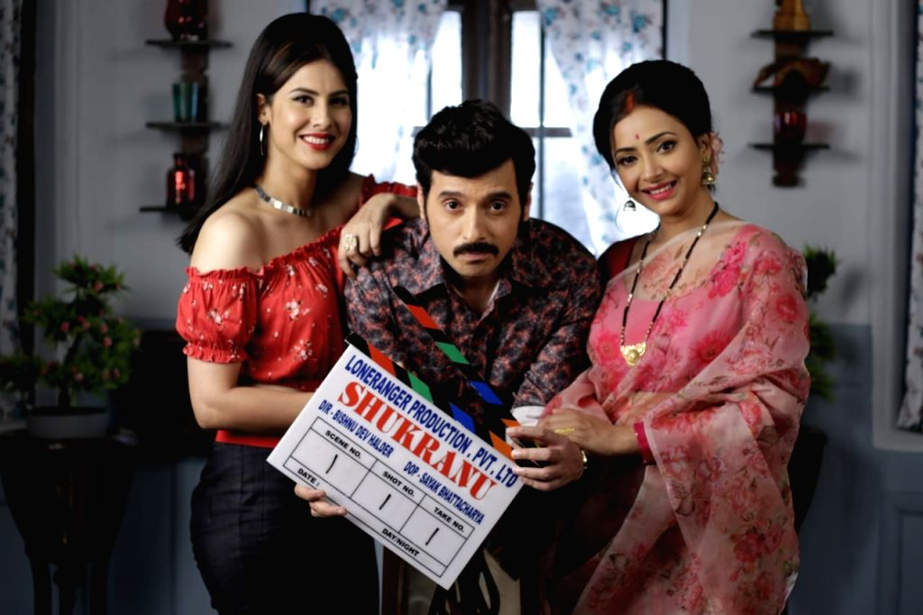 """Actors Divyenndu, Shweta Basu Prasad and Sheetal Thakur have come together for the slice-of-life film """"Shukranu"""", based on sterilization which was forced upon individuals during the emergency rule in India in 1976. - Divyenndu, Shweta Basu Prasad and Sheetal Thakur"""