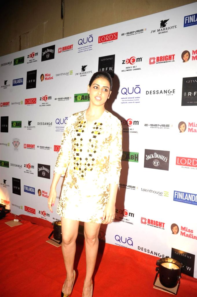 Actors Genelia D'Souza at the 3rd Edition of India Resortwear Fashion Week (IRFW) 2013 in Mumbai on December 13, 2013. - Genelia DSouza