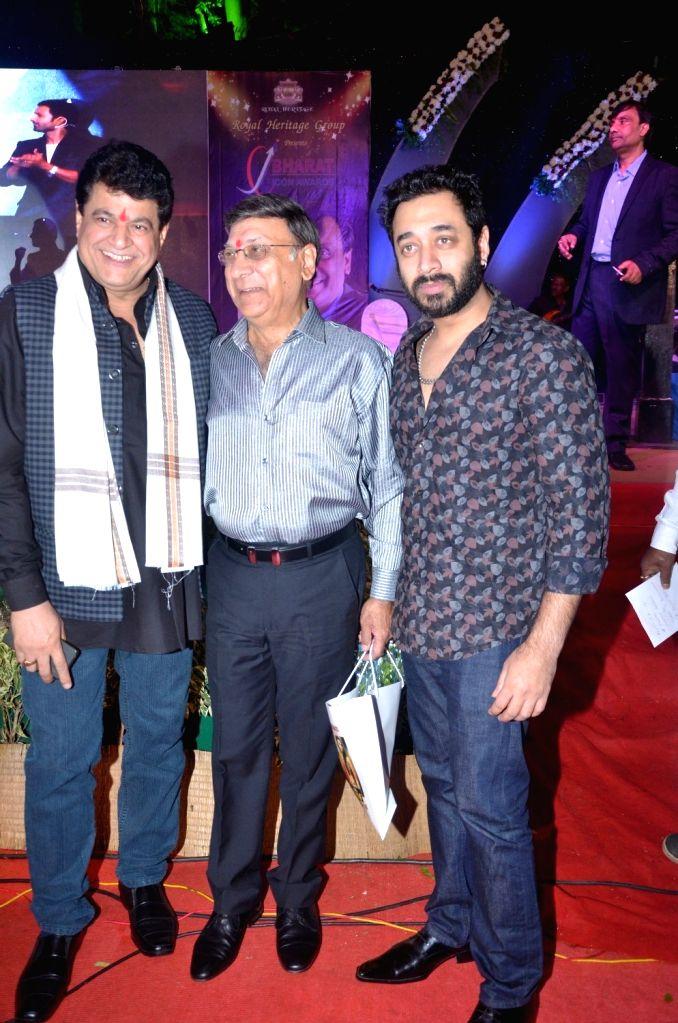 Actors Hiten Paintal, Gufi Paintal and Gajendra Chauhan during Bharat Ikon Award in Mumbai, on Nov 28, 2016. - Hiten Paintal, Gufi Paintal and Gajendra Chauhan