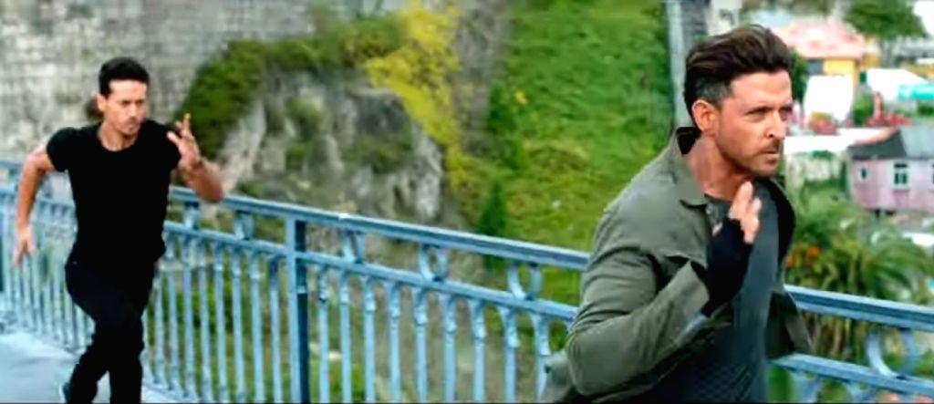 Actors Hrithik Roshan and Tiger Shroff. - Hrithik Roshan and Tiger Shroff