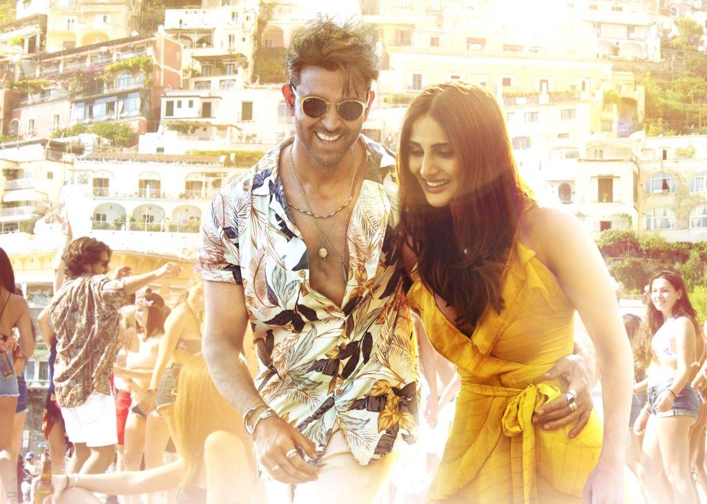 Actors Hrithik Roshan and Vaani Kapoor. - Hrithik Roshan and Vaani Kapoor