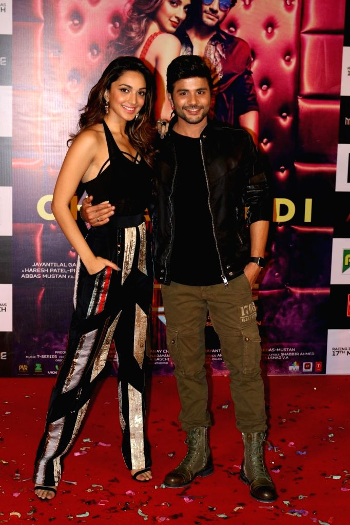 Actors Kiara Advani and Mustafa Burmawala during the song launch Cheez Badi Hai Mast Mast in Mumbai on March 5, 2017. - Kiara Advani and Mustafa Burmawala